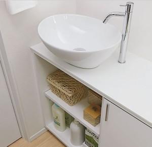 トイレ手洗カウンター 1階設置約79,800円
