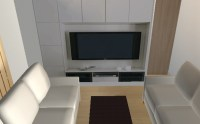 3Dマイホームデザイナー12でテレビボード(もどき)を作成