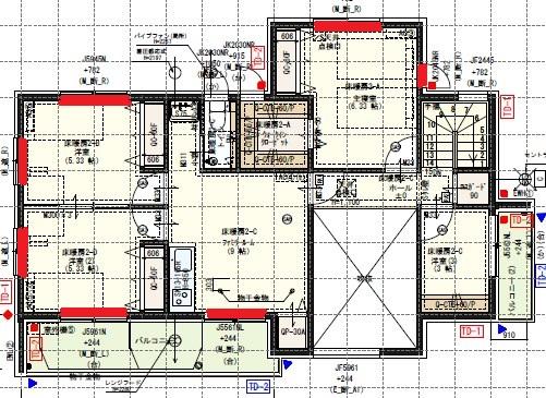 一条工務店i-smartの間取り図(2F)