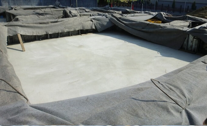 基礎工事13~15日目 立ち上がりコンクリートの養生まで工事は進行しました