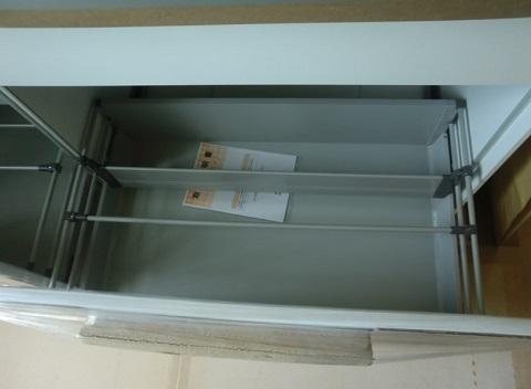 一条工務店i-smartオプションのオリジナルセカンドキッチン、収納部分