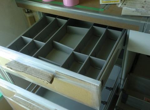 一条工務店i-smartオプションのオリジナルセカンドキッチン、引き出し収納