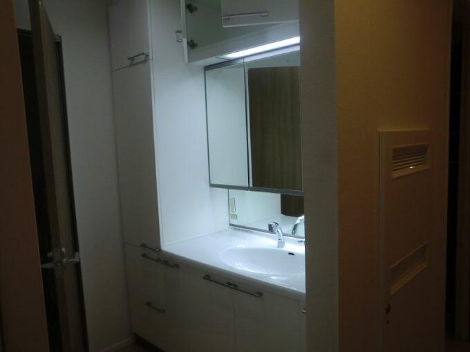 【Web内覧会・第8回】 窓が無い我が家の洗面所