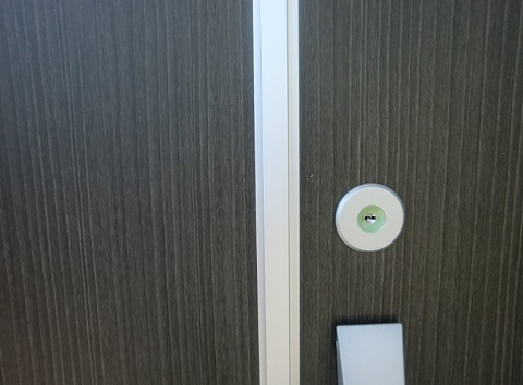 三協アルミのプロセレーネの玄関ドア(一条工務店i-smart)