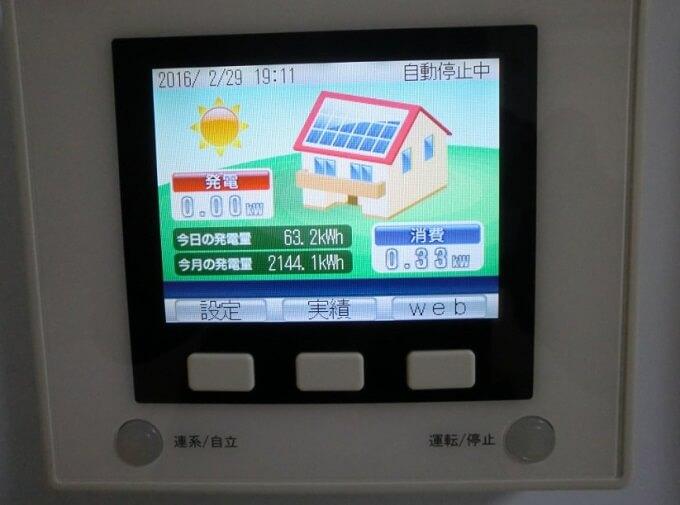 2016年3月分の太陽光発電売電額とようやく稼働させた夢発電モニタリングシステム