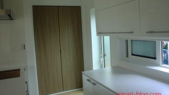 一条工務店i-smartのキッチンの全景写真