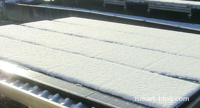 2016年11月の太陽光発電 まさかの積雪に見舞われた11月の発電量