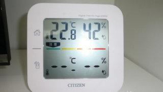 故障?コードレス温湿度計THD501のエラー表示