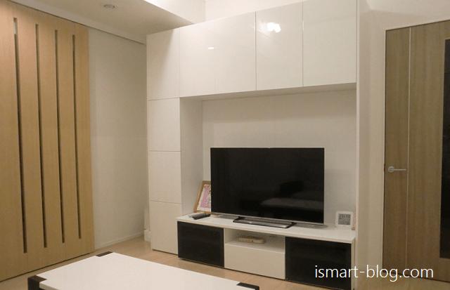 一条工務店i-smart リビングとテレビボード