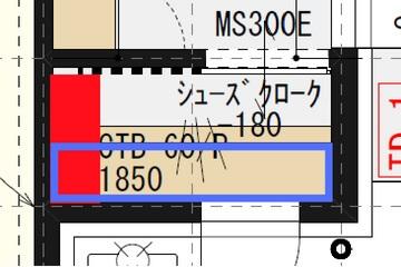 一条工務店i-smartのシューズクロークの平面図
